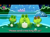 The Frogs Who Desired a King Aesops Fables Pinkfong Story Time for Children
