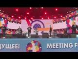 Выступление BW DRUM SHOW на ХIX Всемирном фестивале молодежи и студентов в городе Сочи (17.10.17)