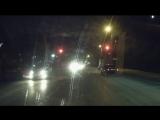 Момент аварии на Королева Киа и Четверка Омск