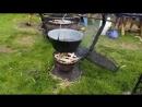 Галицька дефіляда з висоти 100 метровий торт-вишиванка - рекорд Тернопіль