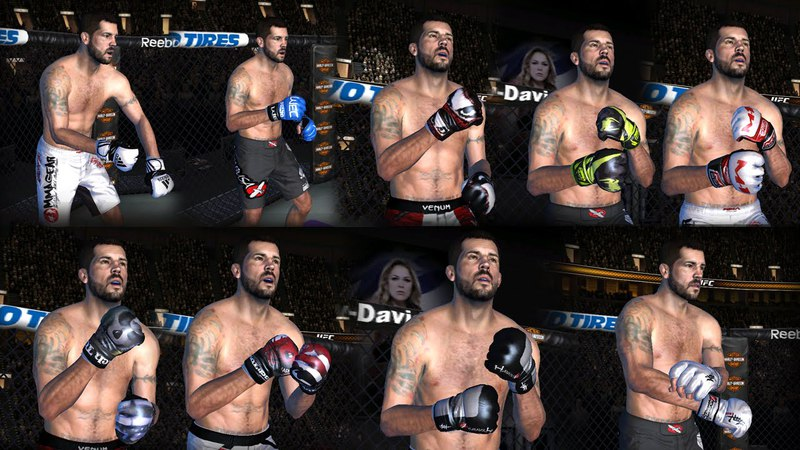 EA Sports UFC для Android.New Pack Glove HD