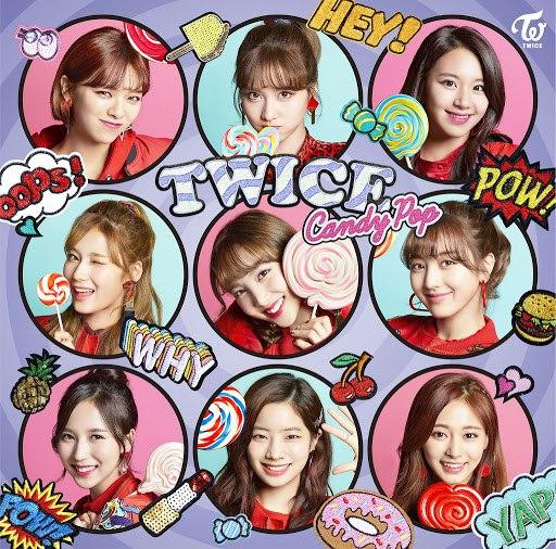 Twice альбом Candy Pop