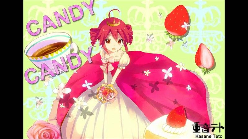 【重音テト Whisper】 CANDY CANDY 「 UTAUカバー 」