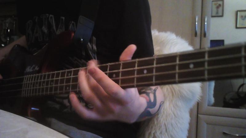 Linkin park - one step closer (bass cover)