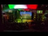 Costa Diadema, театр. Поёт оперный испанский певец Fran Cobos, 2018.01.30