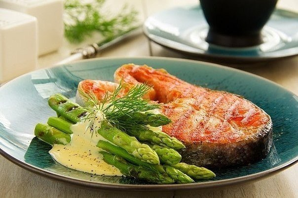 Варианты белкового ужина.  Готовим рыбу