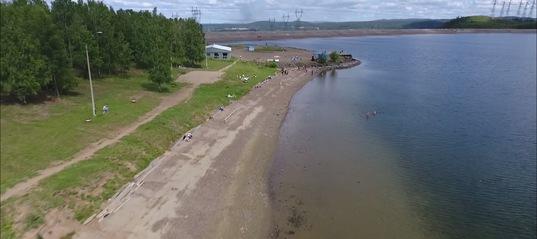 На Усть-Илимском водохранилище падает уровнь воды