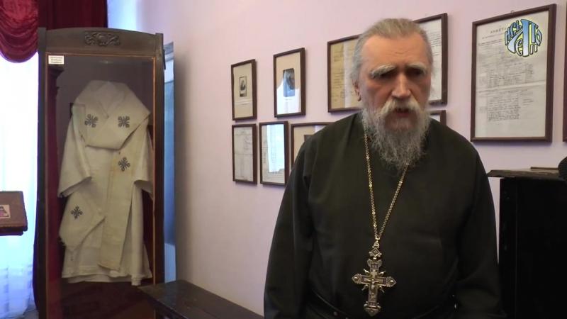 Интервью архимандрита Дамаскина Орловского в музее ЧОУ