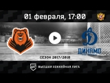 «Молот-Прикамье» Пермь - «Динамо» СПб