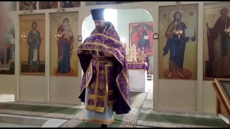 Проповедь протоиерея Ярослава Иванова в 4 неделю великого поста, Иоанна Лествичника