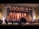 М Равель Концерт для фортепиано с оркестром №1 1 часть Солистка Александра Карелина Дирижер Игорь Вербицкий