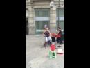 Уличные певцы в Милане