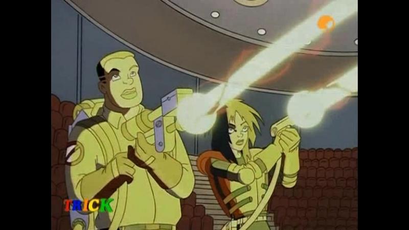 Extreme Ghostbusters | Экстремальные Охотники за Привидениями - 37. The Sphinx | Загадка Сфинска (Рус)