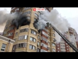 Жилой дом горит на Ильинском бульваре в Красногорске