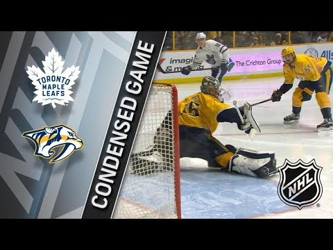Toronto Maple Leafs vs Nashville Predators – Mar. 22, 2018 | Game Highlights | NHL 2017/18. Обзор