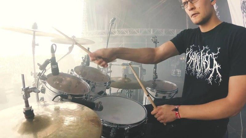 Der Weg einer Freiheit - Zeichen (Drumcam live at Summer Breeze 2017)