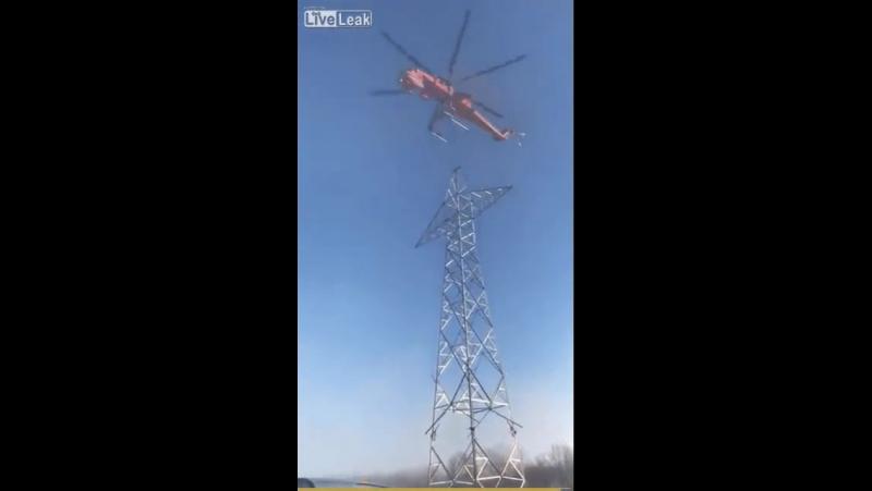 Монтажники–высотники, высший пилотаж