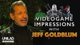Jeff Goldblum Does Video Game Impressions - UNILAD Gaming