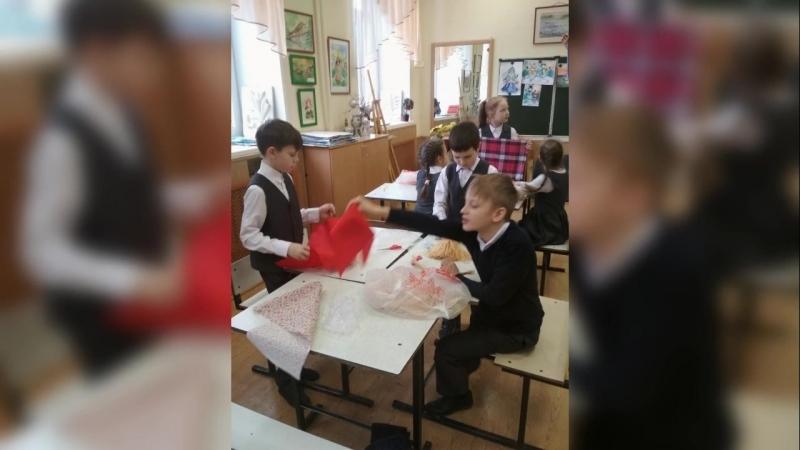 МК по созданию куклы-масленицы от 3А класса (Якупова НВ)