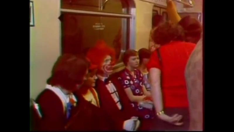 АБВГДЕйка в московском метро 1978