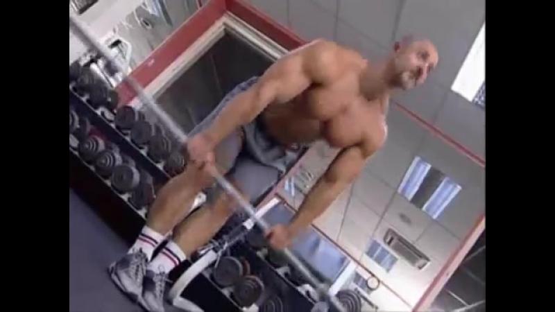 Ноги - Наклоны вперед со штангой в руках (мертвая тяга). Техника выполнения упражнения.