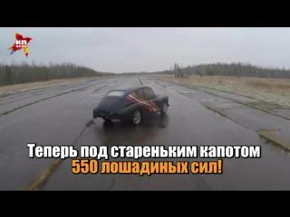 Россиянин превратил советскую «Победу» в крутой спорткар