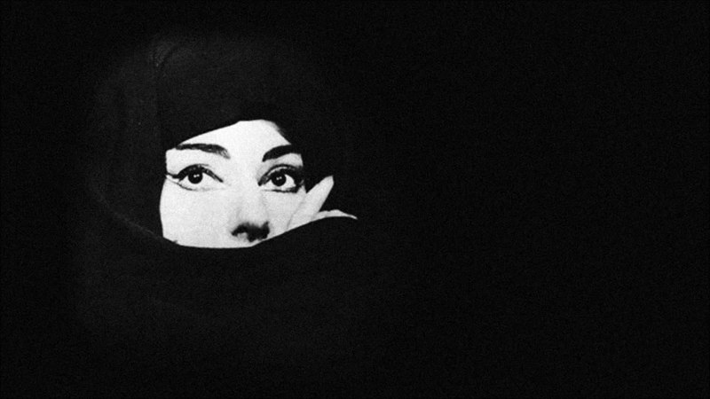 Maria Callas' mythological fierceness as the witch Medea