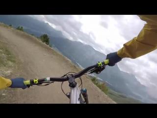 Tom Oehlers MTB Trail Guide E4- Corviglia, Switzerland