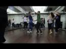 BACHATA, фрагмент урока с Alan Eufor, школа танцев Держи Ритм