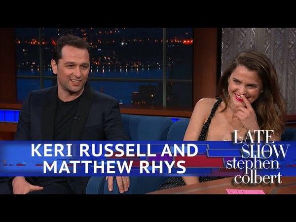 Keri Russell And Matthew Rhys Met A Big Fan Named President Obama