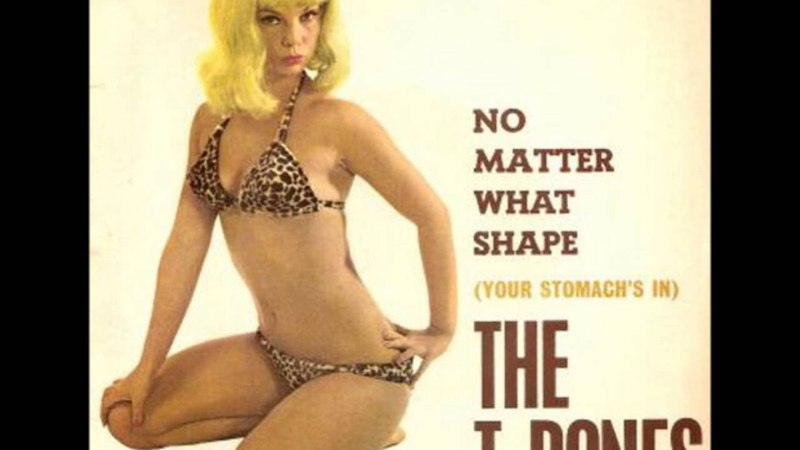 The T-Bones * No Matter What Shape (Your Stomach's In) 1965 HQ