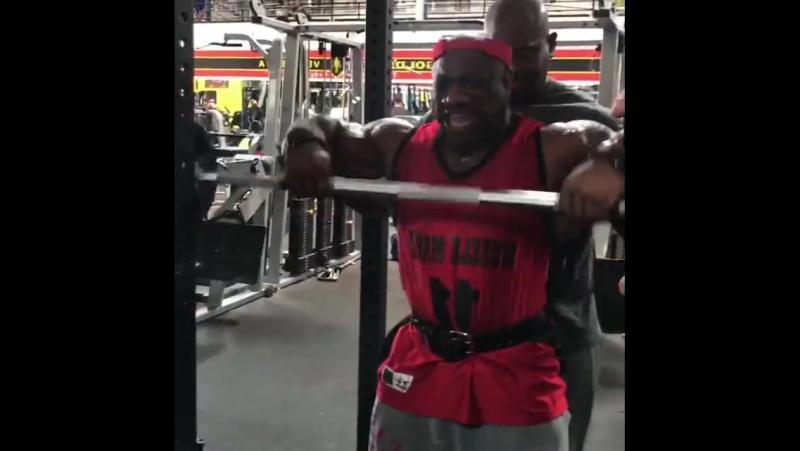 Декстер Джексон. Подготовка к Олимпии-2017