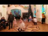 02-01-2018 Новогодний утренник в кукольном театре. Тамбов. Танцы перед началом спектакля.