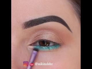 Идеальный макияж для карих глазок