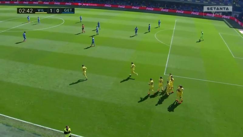 Энес Унал забивает победный гол против Хетафе