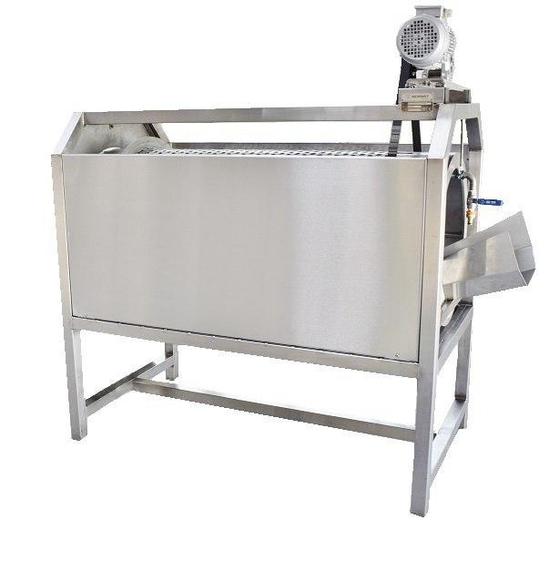 Моечная барабанная машина для корнеплодов