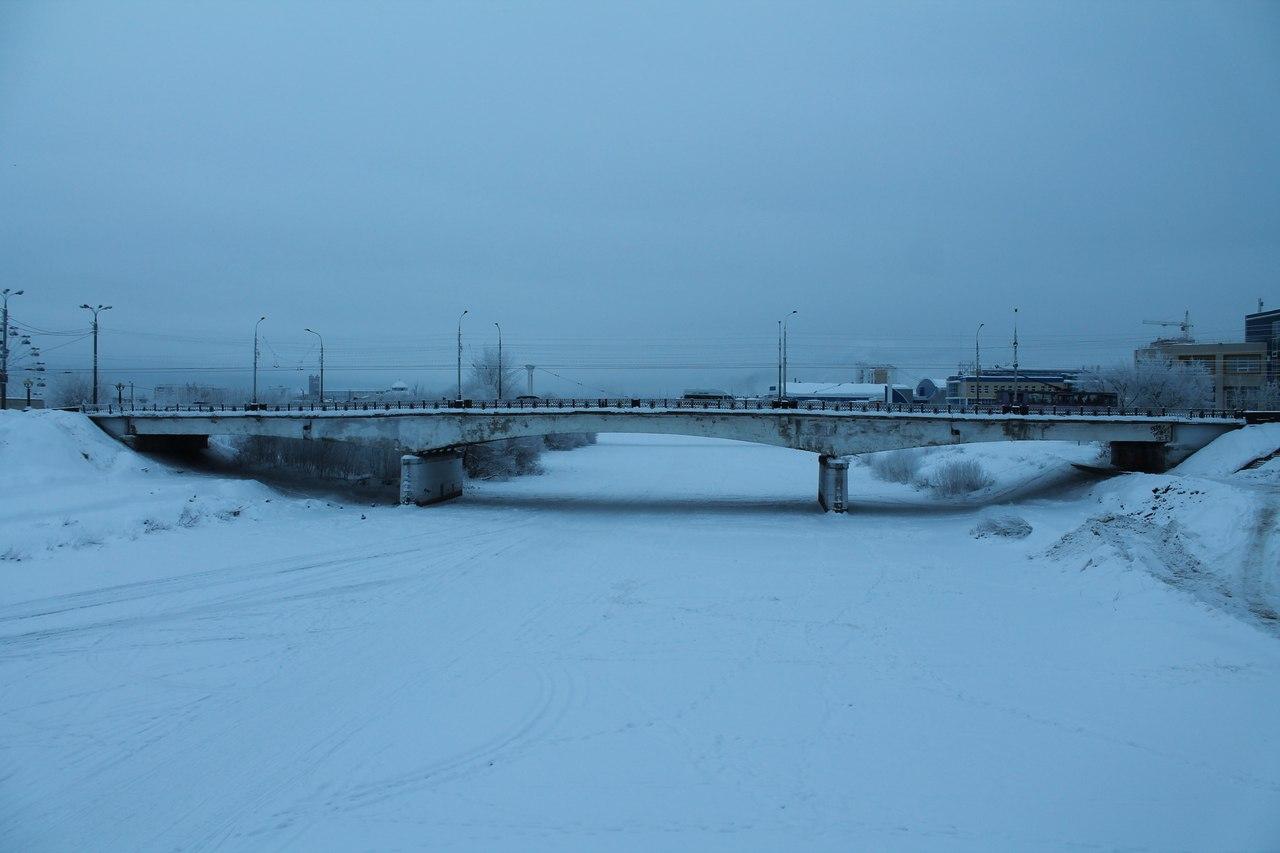 В Йошкар-Оле Центральный мост не выдерживает веса авто?