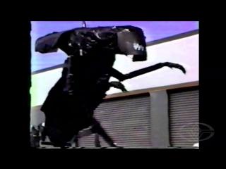 Aliens - alien queen garbage bag test - stan winston studio behind-the-scenes