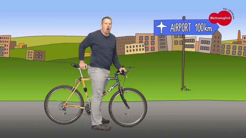 Bike, Car, Bus, Motorbike, Train, Plane _ English for Kids _ story for children