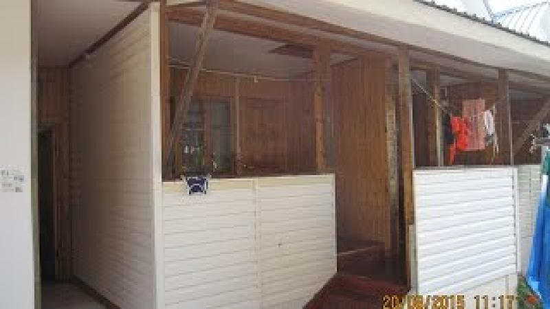 Деревянные домики с удобствами в Лоо