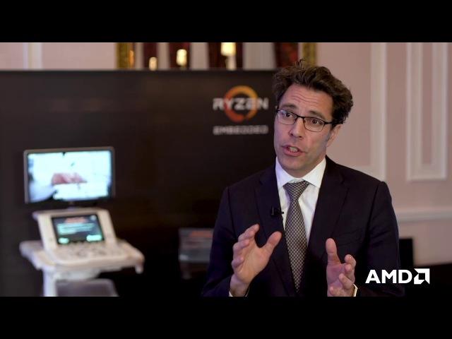 AMD Ryzen™ Embedded Customer Testimonial Esaote February 21 2018