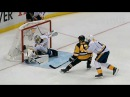Crosby feeds Sheary cross-crease to beat Saros