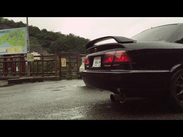 HONDA Accord CF4 SIR-T 5ZIGEN LOUD Exhaust sound