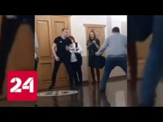 Агрессивный поклонник напал на охрану Ольги Бузовой в Хабаровске - Россия 24