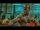 Драка в масле. Фрэнк Мартин (Джейсон Стейтем) против кучи бандитов. Перевозчик (2002) 4K ULTRA HD
