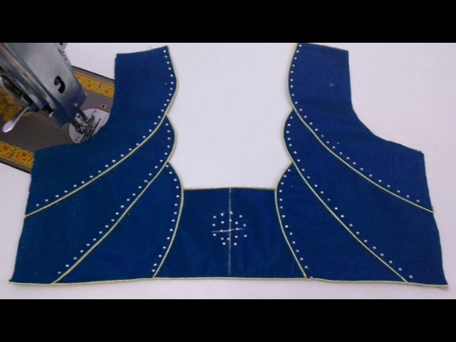 Making Designer Blouse/Blouse Designs Cutting and Sewing in hindi