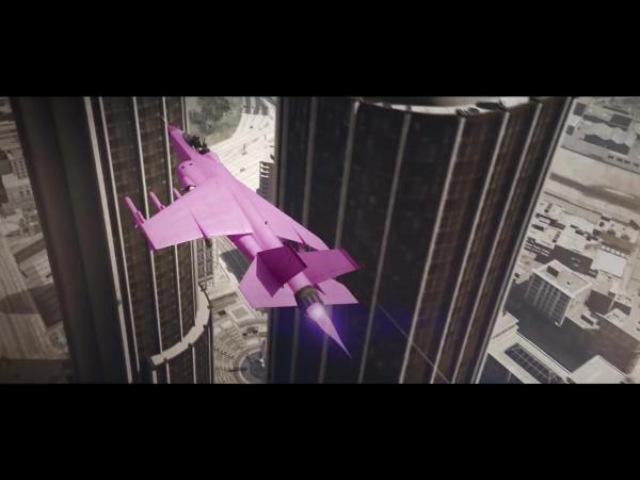 Трюкачи снова показывают высший пилотаж в GTAV