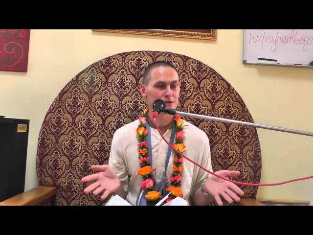 Ачьюта прабху (1 лекция)
