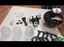 Монтаж установка потолочной люстры вентилятора Faro Lisboa