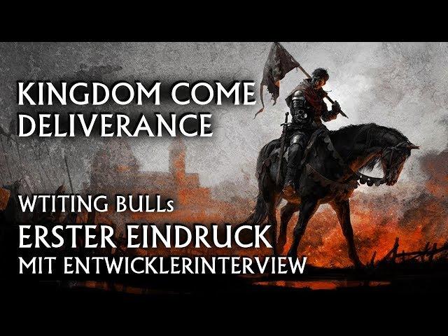Erster Eindruck: Kingdom Come Deliverance | Entwickler-Interview [deutsch]